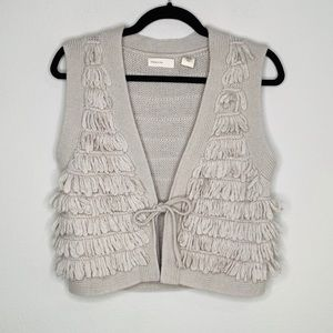 Anthro Sleeping on Snow Benefit Sweater Vest
